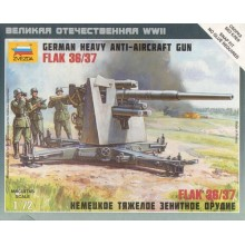 German 88mm Flak 36/37 1/72