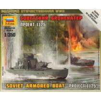 Soviet Armoured Boat 1/350