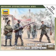 Soviet Militia 1941 1/72
