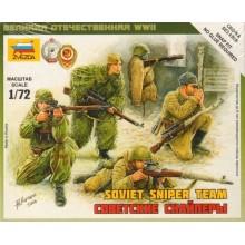 Soviet Snipers 1/72