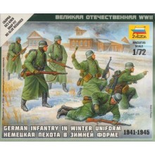 German Infantry (Winter Uniform) 1/72