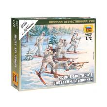 Soviet Skiers [WWII] 1/72