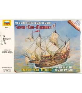 Galeon 'San Martin' Flagship of the Armada Invincible 1/350