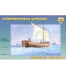 Medieval Life Boat 1/72