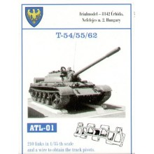 210 links for Russian T-54, T-55, T-62, T-59 and T-69 Chinese.
