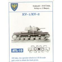 Russian KV-1/Russian KV-2 180 Links plus 2 Sprocket Wheels