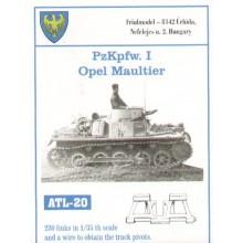 Pz.Kpfw.I/Opel Maultier 1/35