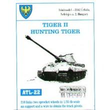 200 links. King/Hunting Tiger 1/35