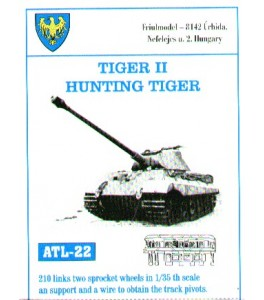200 links. King/Hunting Tiger 1/35