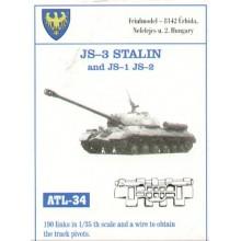 J3 Stalin JS-1 JS-2 1/35