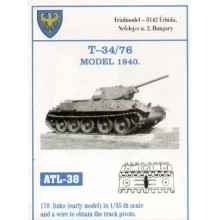 Russian T-34/76 early model 1940 1/35