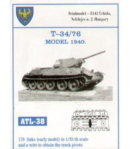 Russian T-34/76 early model 1940 1/35