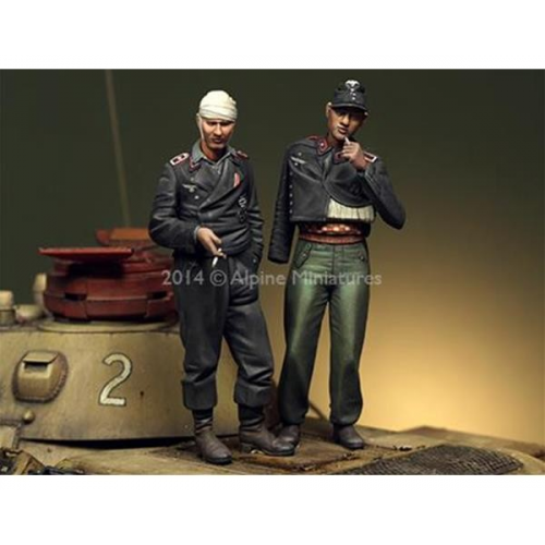 German Panzer Crew Set 2 figures 1/35