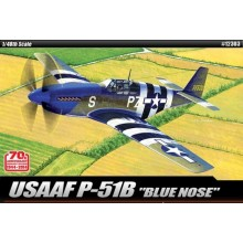 North American P-51B 70th 1/48