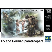 US and German Paratroopers (The south of Europe 1944) 1/35