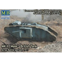 Mk.II British Tank 'Male' Arras Batle Period 1917 1/72