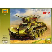 Russian BT-7 Light tank 1/35