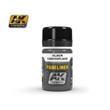 PANELINER FOR BLACK CAMOUFLAGE