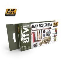 Set de pinturas accesorios de tanques