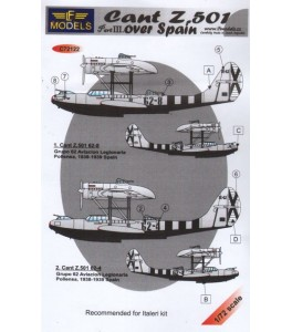 Cant Z.501 over Spain - Part 3 1/72