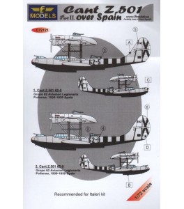 Cant Z.501 over Spain - Part 2 1/72