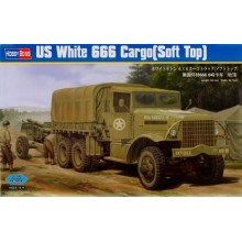 US White 666 Cargo Truck (Soft Top) 1/35