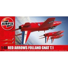 Folland Gnat T.1 (Red Arrows) New Tooling! 1/48