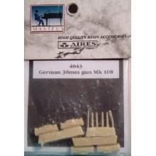 GERMAN 30MM.GUN MK108-1/48 AIRES