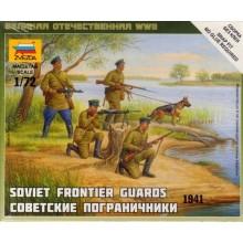 Soviet Frontier Guards 1/72