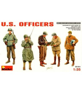 US Officers WWII 1/35