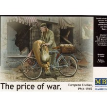 European Civilian on Bike, 1944-45, 'The Price of War' 1/35