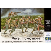 US Soldiers, Operation Overlord 'Move, Move, Move!' 1/35