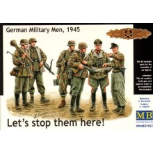 German Soldiers, 1945 - 'Lets stop them here!' 1/35