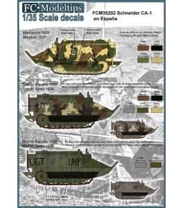 Calcas Schneider CA-1/35