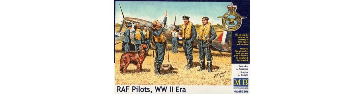 Pilots, 1/72-1/48-1/32